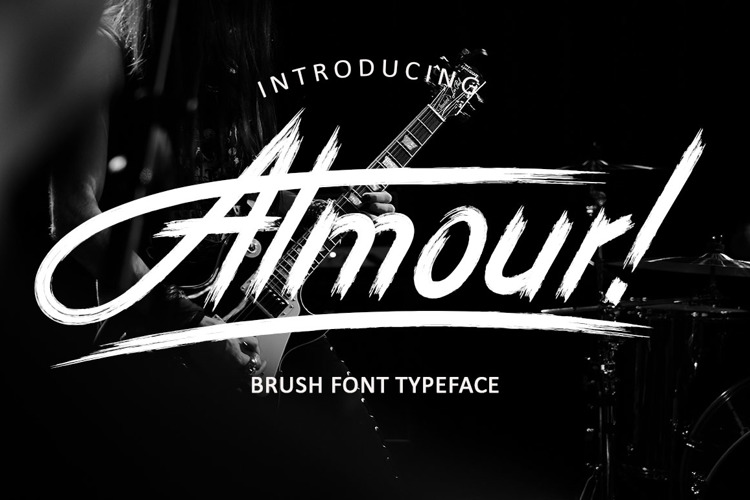 Almour ! Font
