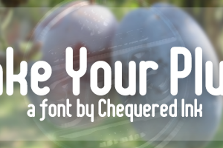 Shake Your Plums Font