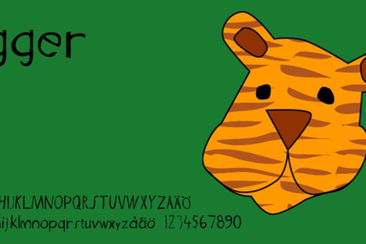 Tigger Font
