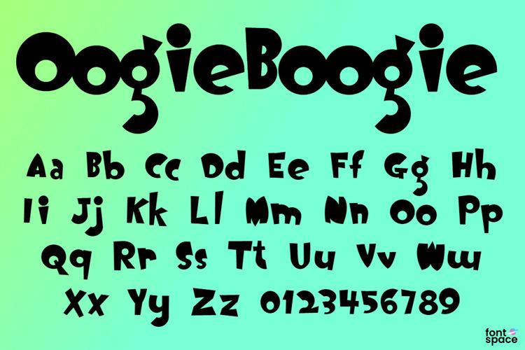 Oogie Boogie Font