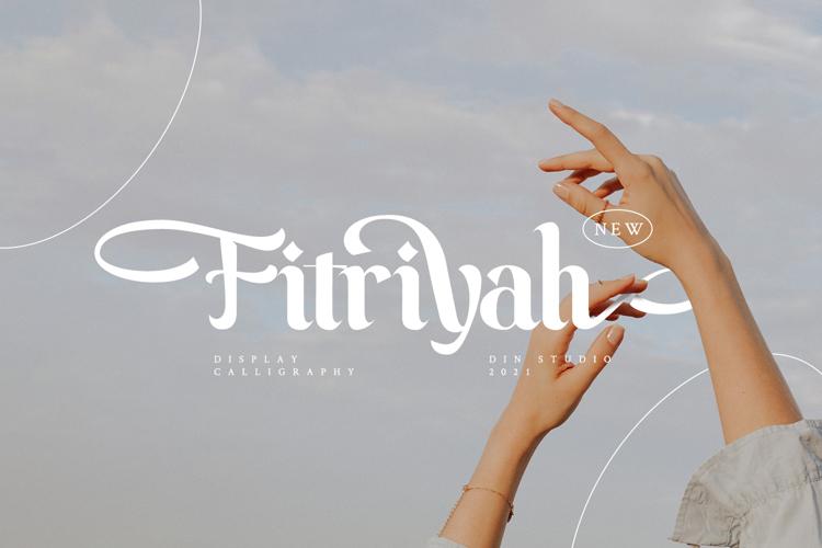 Fitriyah font