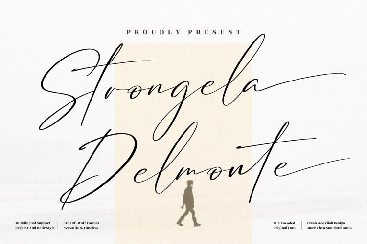 Strongela Delmonte Font