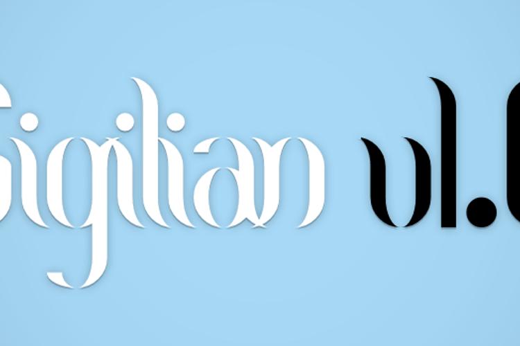 Sigilian Font