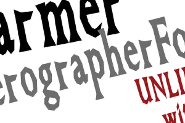 GreatFarmer Font