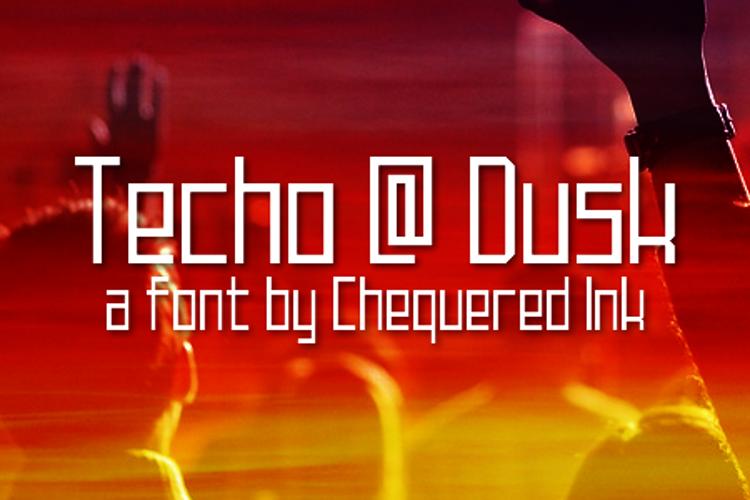 Techno at Dusk Font
