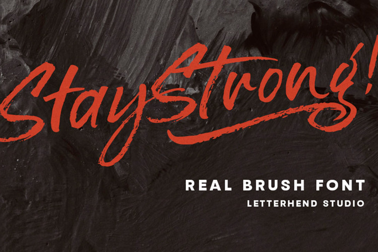 Stay Strong Font