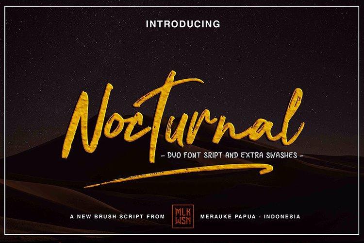 Nocturnal Font