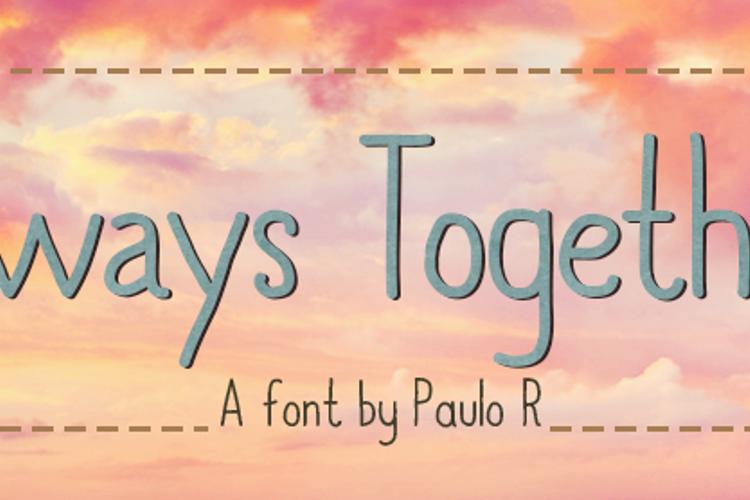 Always Together Font