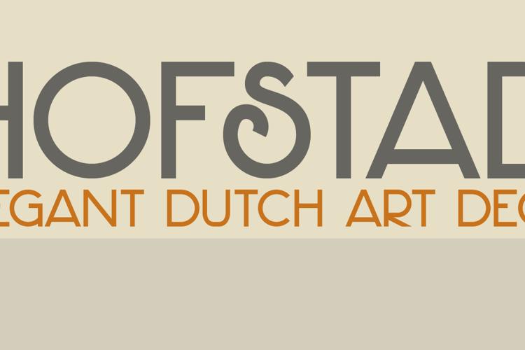 DK Hofstad Font