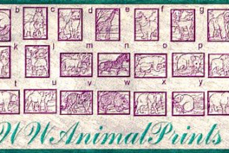 WWAnimalPrints Font