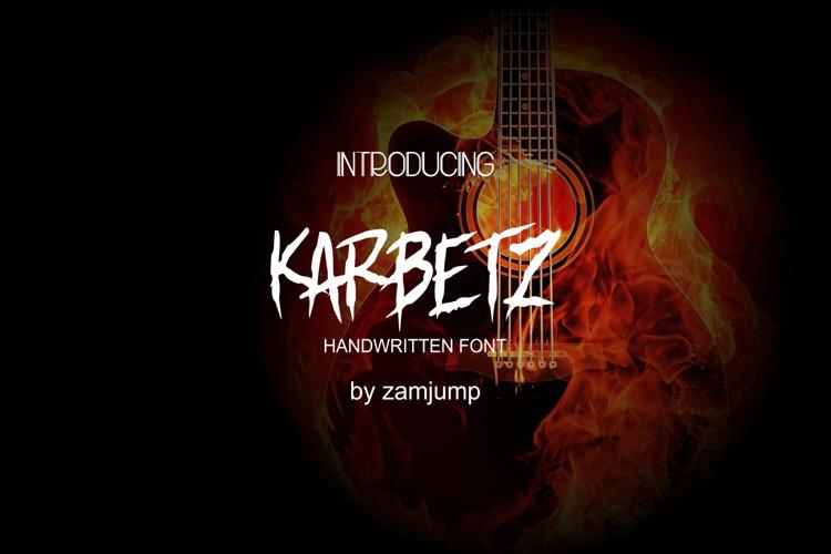 Karbetz Font