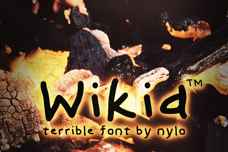Wikid Font