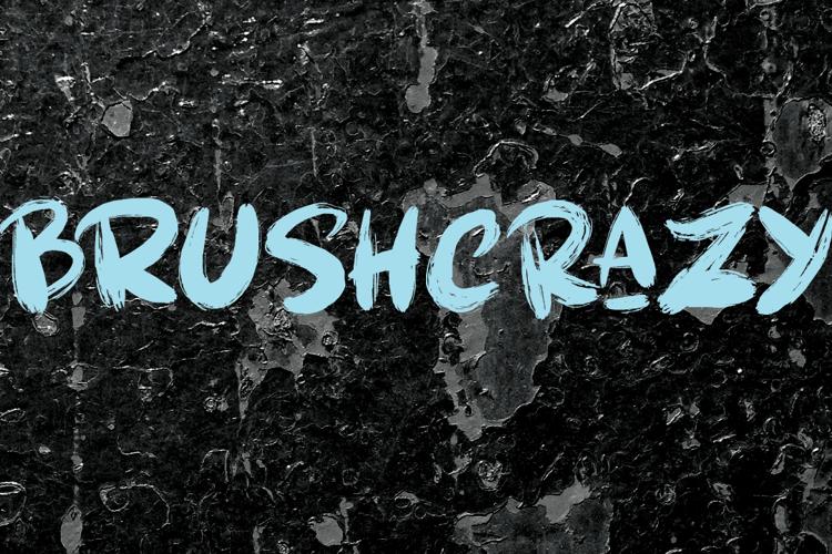 Brushcrazy DEMO Font