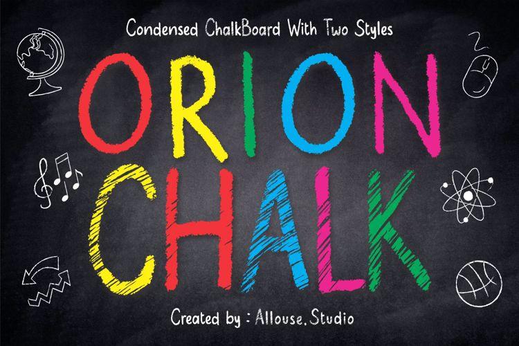 Orion Chalk Font