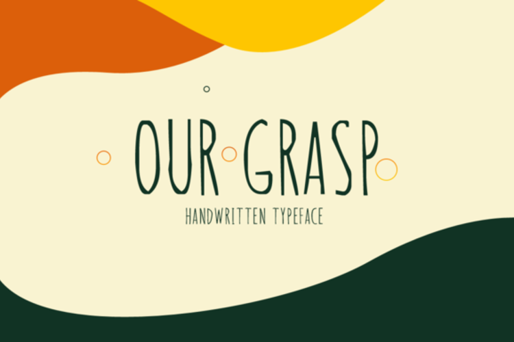 Our Grasp Font