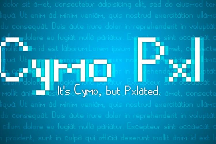 CymoPxl Font
