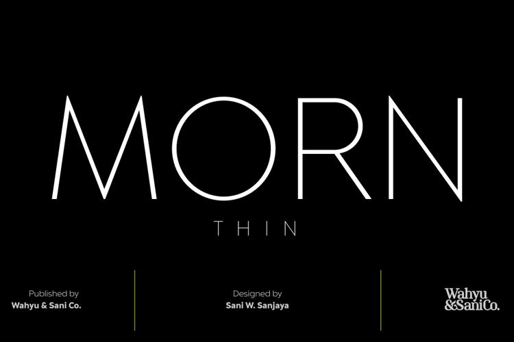 Morn Font