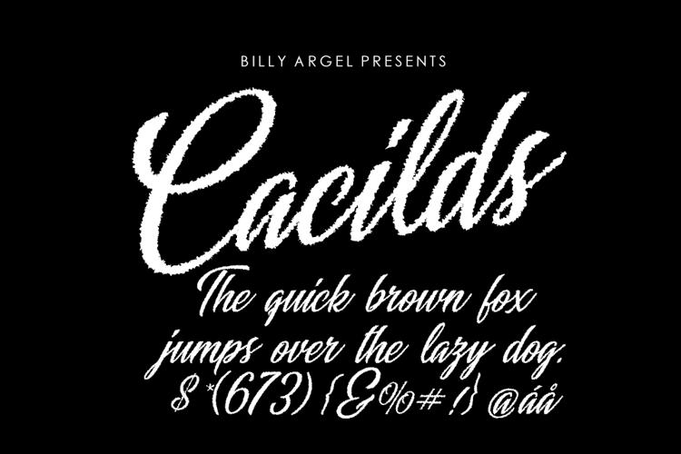 Cacilds Font