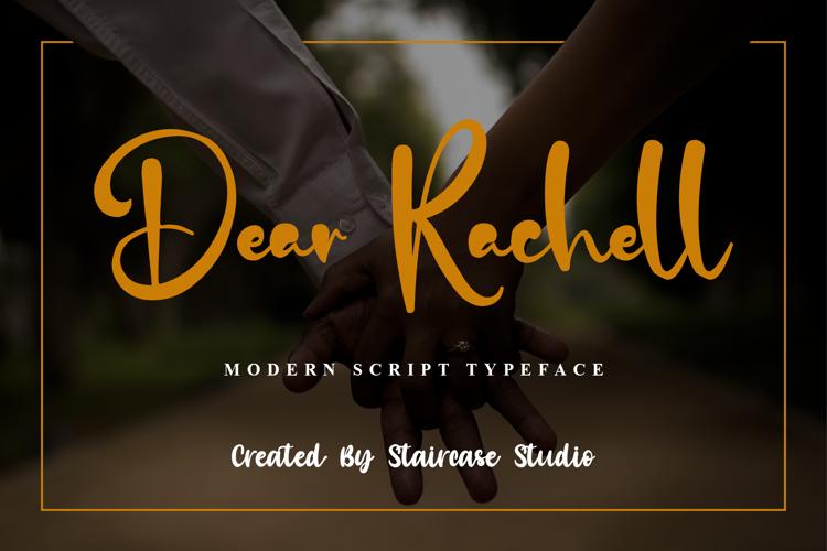 Dear Rachell Font