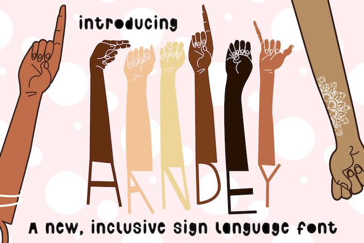Handey Inner Font