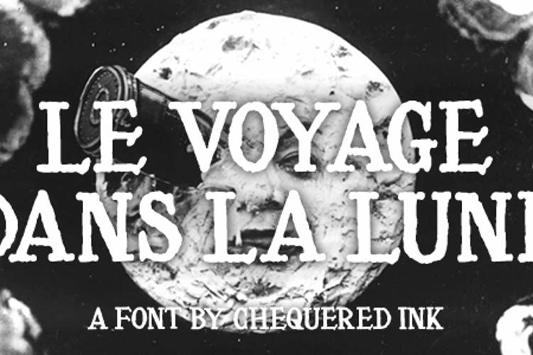 Le Voyage Dans La Lune Font