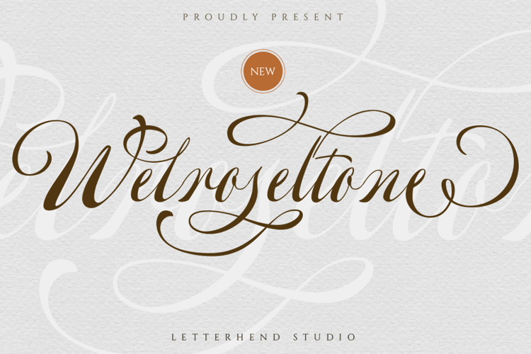 Welroseltone Font
