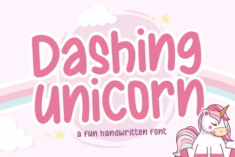 Dashing Unicorn Font