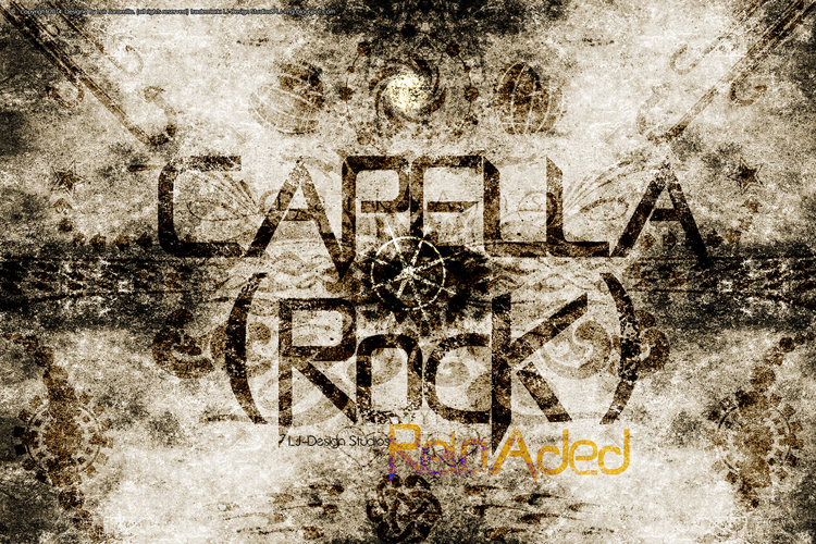 Capella (Rock) - LJ Design Stud Font