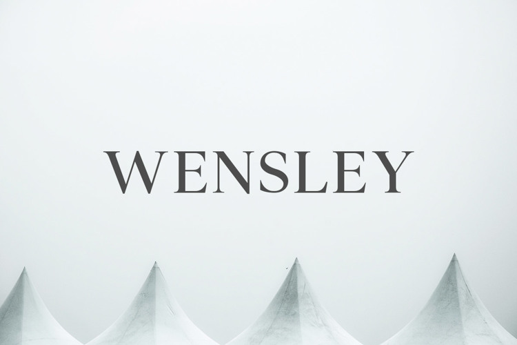 Wensley Font