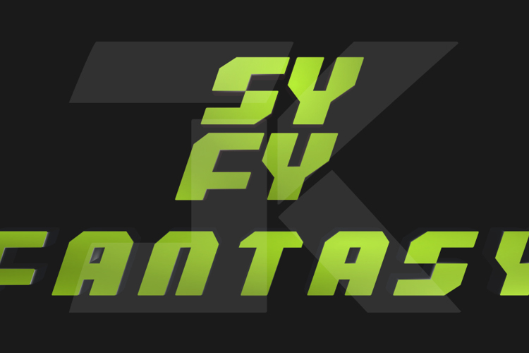 SYFY Fantasy Font
