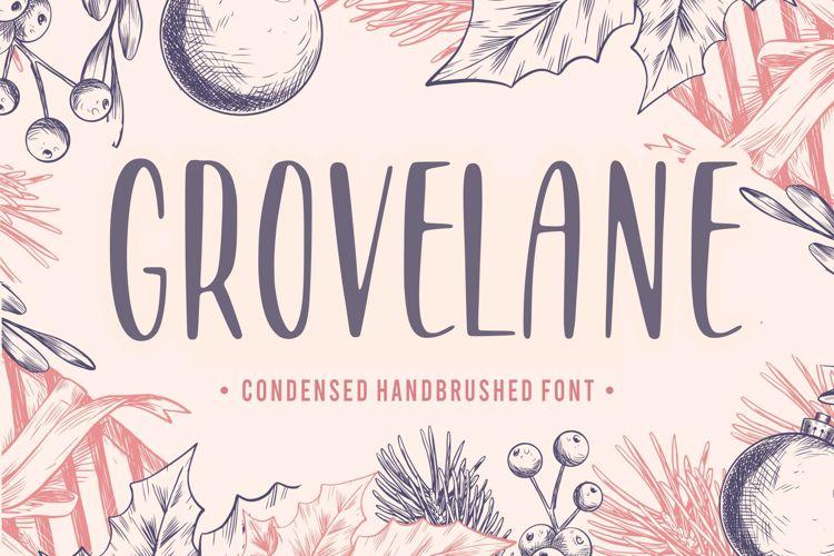 GROVELANE Font