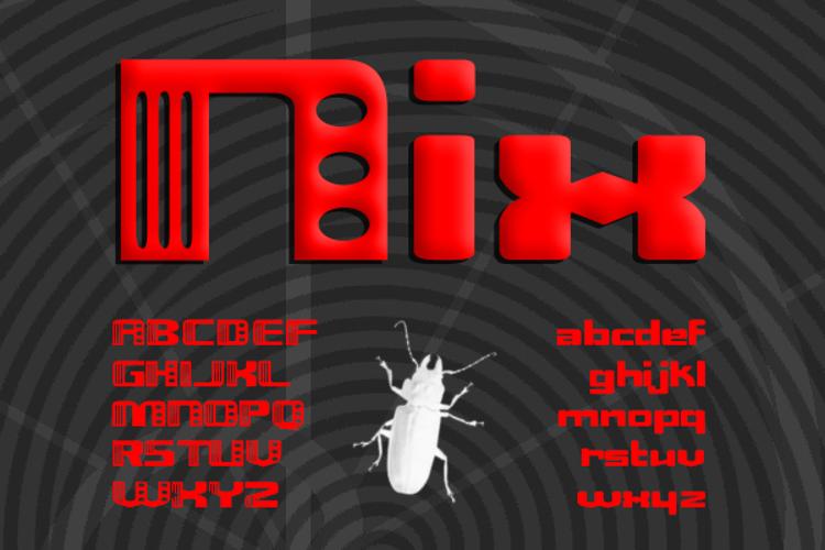 Nix Font
