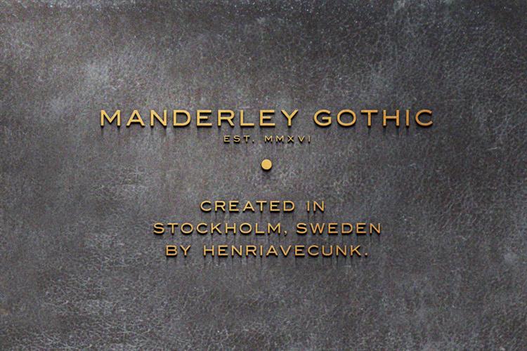 Manderley Font