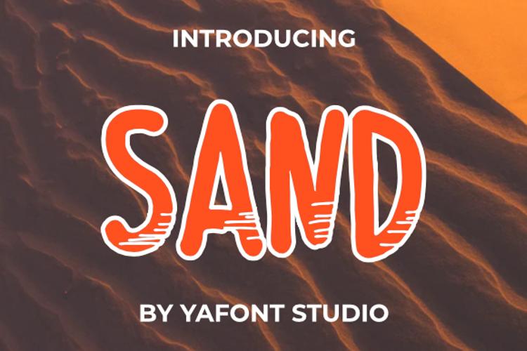 Sand Font