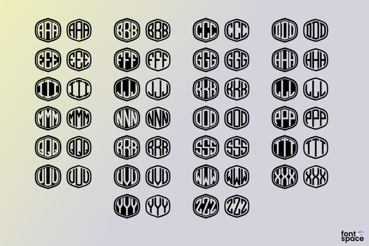 Monograma Font