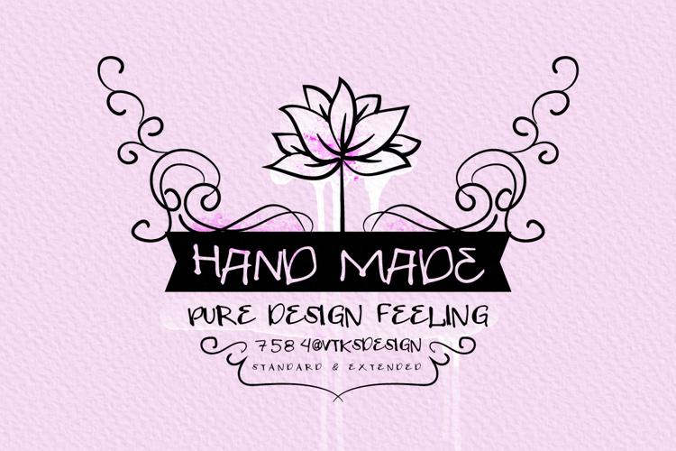 VTKS HAND MADE Font