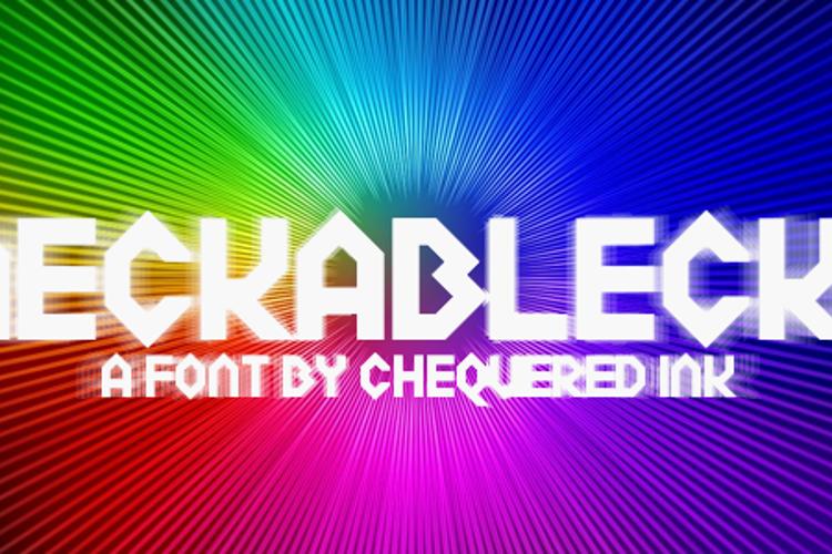 Meckablecka Font