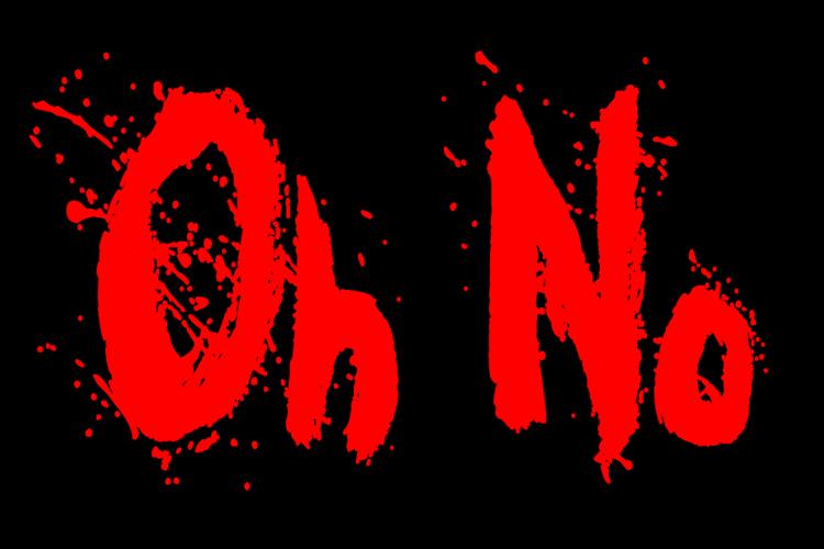 Oh No Font