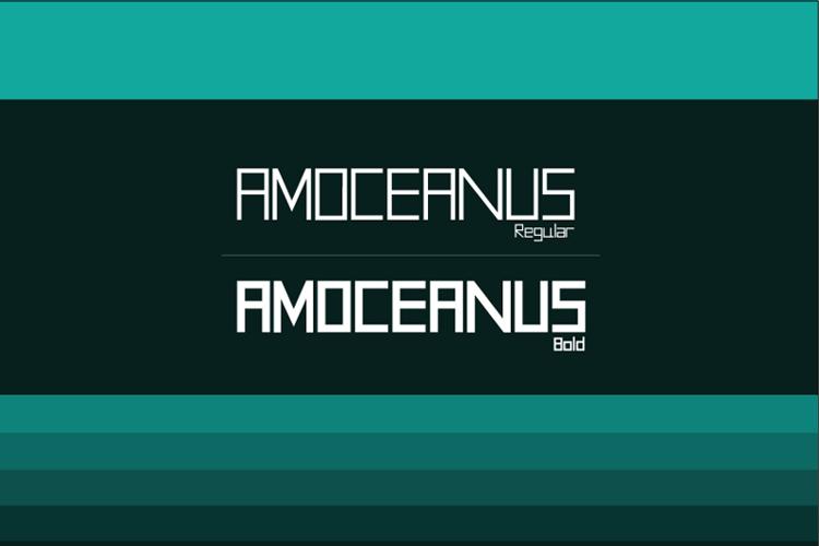 AMOceanus Font