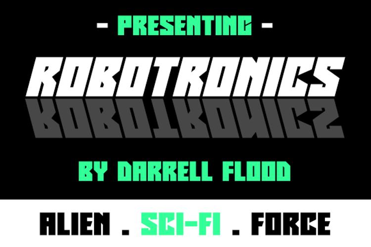 Robotronics Font