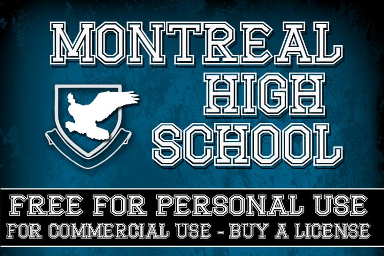 CF Montreal High School Font