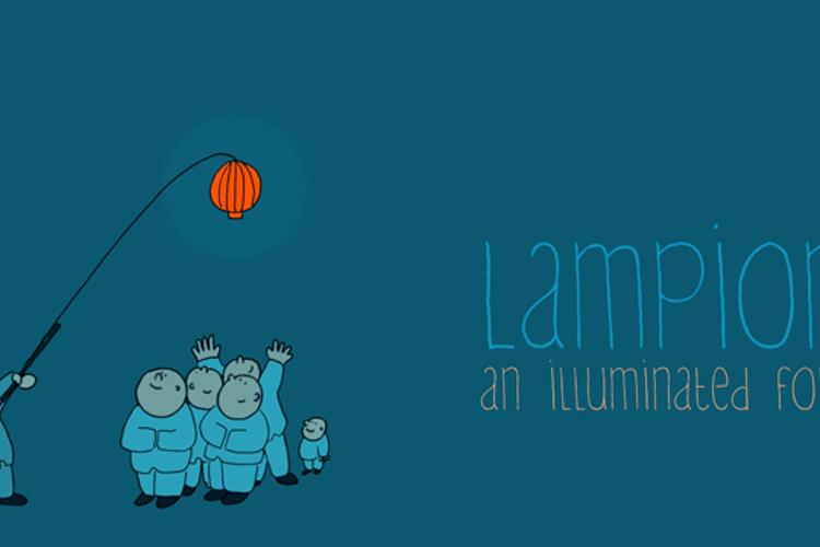 DK Lampion Font