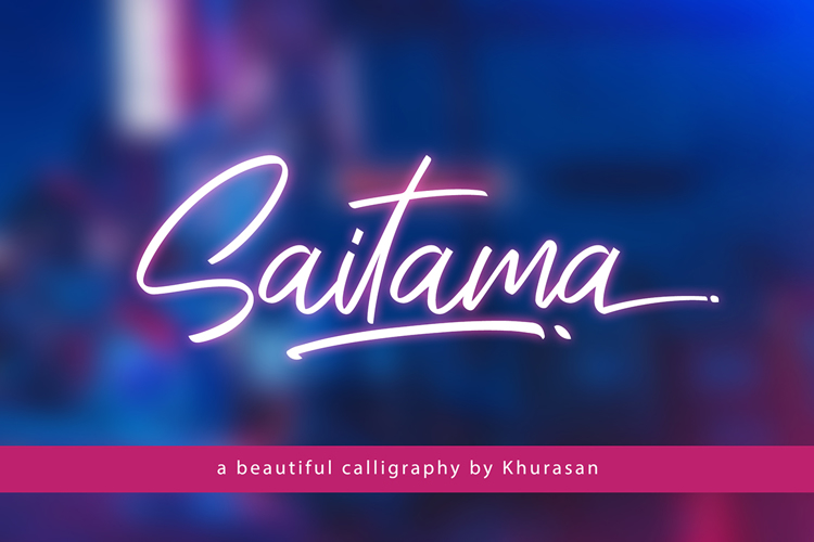 Saitama Font