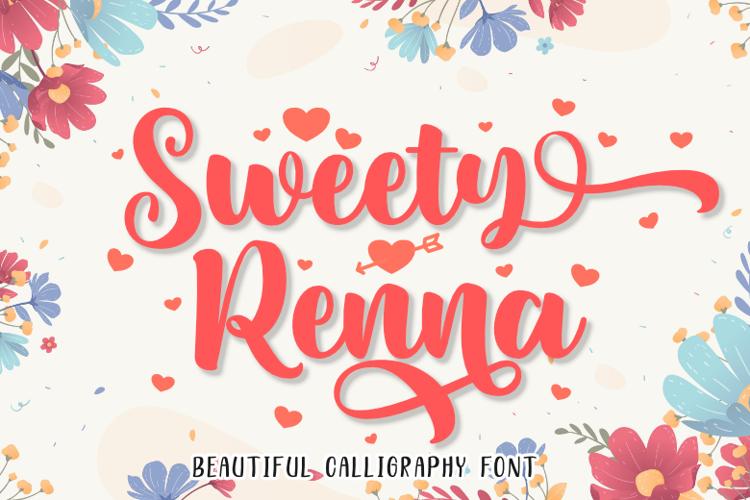 Sweety Renna Font