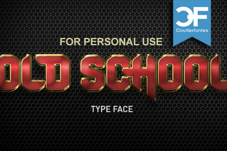 CF Old School Font