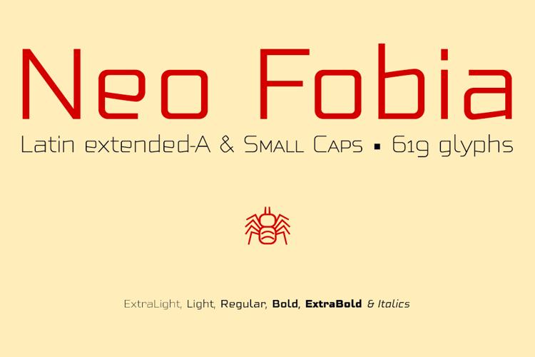 Neo Fobia Font