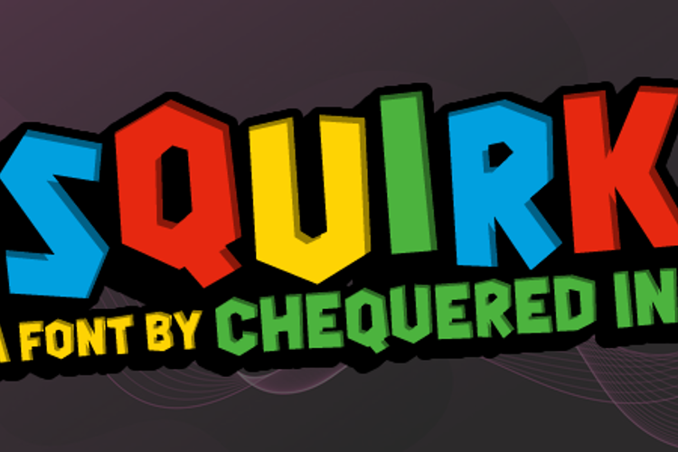 Squirk Font