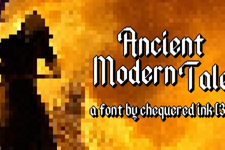 Ancient Modern Tales Font