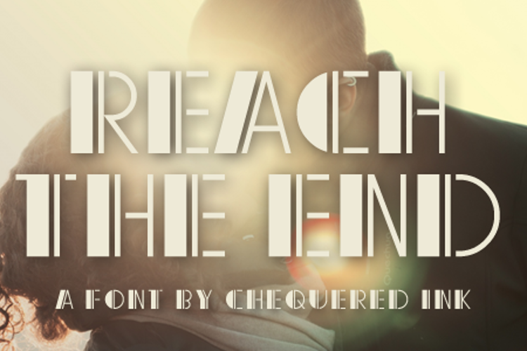 Reach the End Font