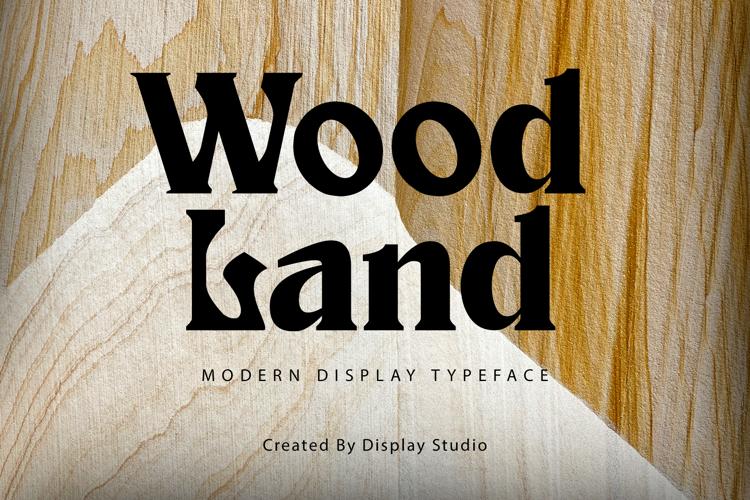Wood Land Font